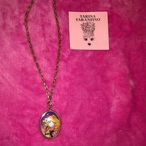 Tarina Tarantino Barbie gold Necklace